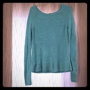 Teal colored American Eagle sweater